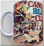 Candelo Blues Club coffee mug