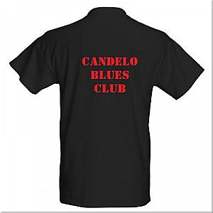 Candelo Blues Club T-shirt BACK