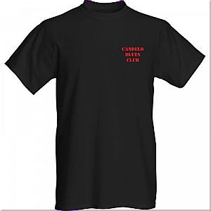 Candelo Blues Club T-shirt FRONT
