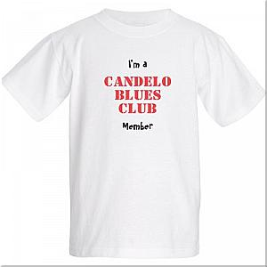 Candelo Blues Club kid's T-shirt FRONT